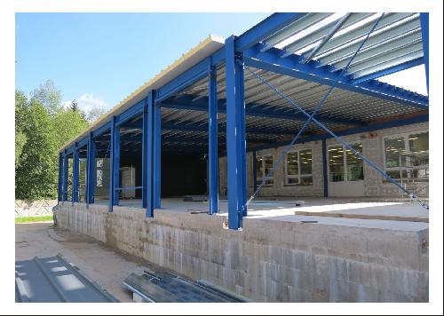 Rome wasn´t built in a day...expansion of our production space about 300m2