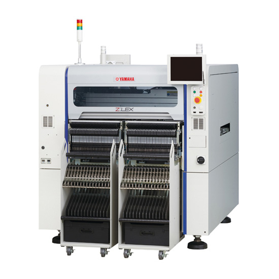 Nový stroj Yamaha Motor Releases High-Efficiency Modular Surface Mounter Z:LEX YSM20