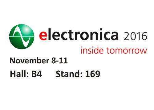Invitation to Electronica 2016